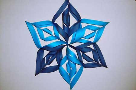 Fiocchi Di Neve Di Carta Modelli : Come piegare e fare un fiocco di neve di carta come creare