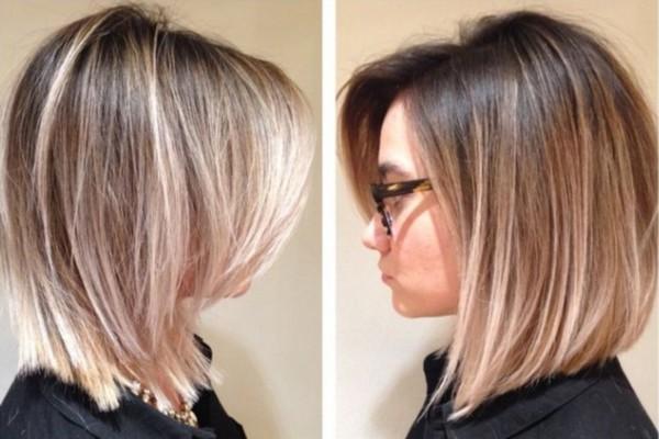 Krásne melirovanie na tmavých vlasoch. Kaplnka na tmavých vlasoch ... 6e005b3544c