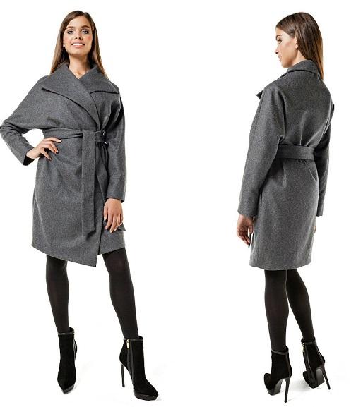 aa60713ef0f Да се даде предпочитание на палто с колан е за тези, които нямат добре  дефинирана талия