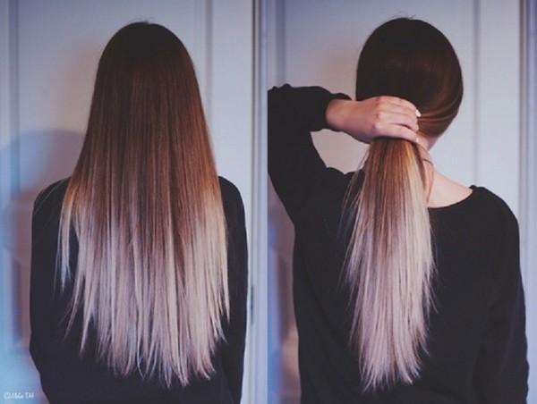 f7c166ce38b9 Krásne melirovanie na tmavých vlasoch. Kaplnka na tmavých vlasoch ...