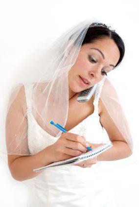 82d389161d11 Что нужно невесте на свадьбу  Список можно продолжить. Не забывайте, что  необходимо заранее записаться к парикмахеру и визажисту.