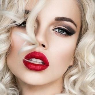 cc6f1c4257e Макияж под красное платье. Создание макияжа под красное платье для ...
