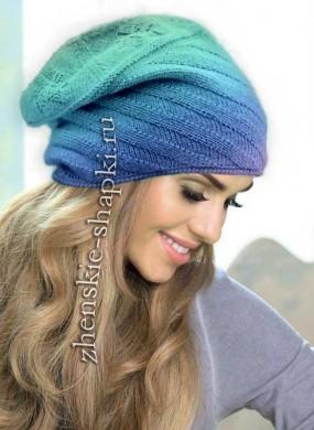 шапки вязаные женские зима италия