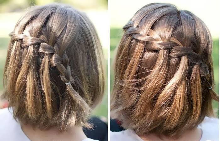 Укладка волос до плеч в домашних условиях.