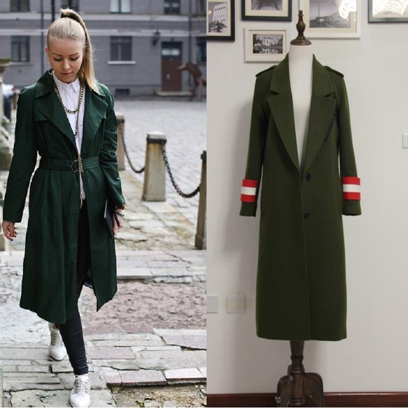 de al abrigo invierno Con verde un ponerse collar verde que Que abrigo w4TCS7Rq