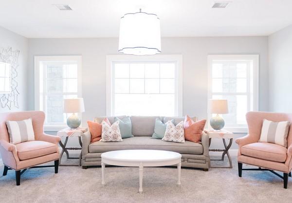 add82a1065 Pastelové farby v interiéri - pravidlá používania. Pastelové farby v ...