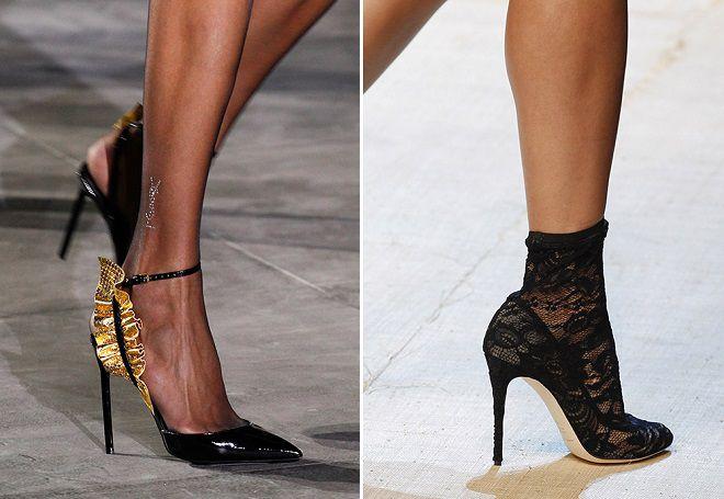 f5be663400f3 Každá sezóna spôsobuje vysokú pozornosť topánky s otvoreným nosom. Niektorí  ich považujú za príliš úprimní