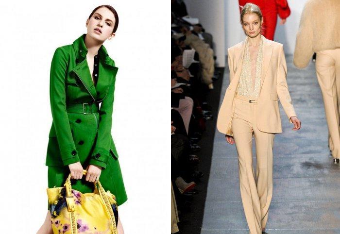 fa72408300 Nezabudnite však doplniť ju zeleným vreckom alebo iným príslušenstvom  rovnakého odtieňa ako kabát