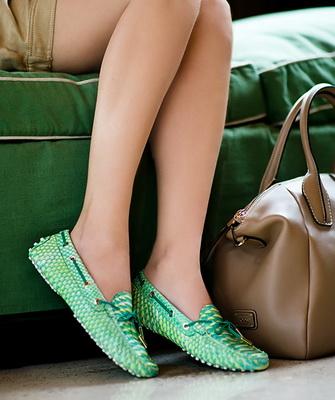 Женский секс в обуви