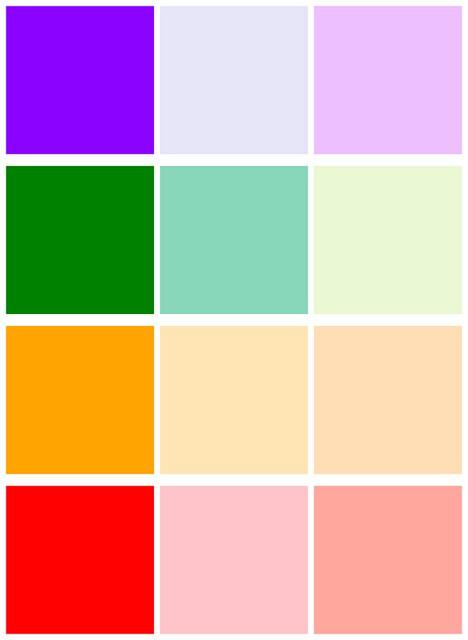 80435319f4 Na jeho vytvorenie je potrebné zmiešať hlavnú farbu s bielou alebo  svetložltou farbou. Pastel verzia fialová - alebo svetlá levanduľa