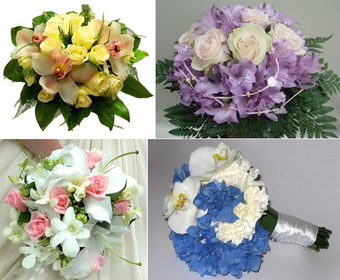 Какие и сколько цветов подарить невесте